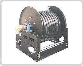 Hose Reel for Special Purpose Vehicles of Lubiricator